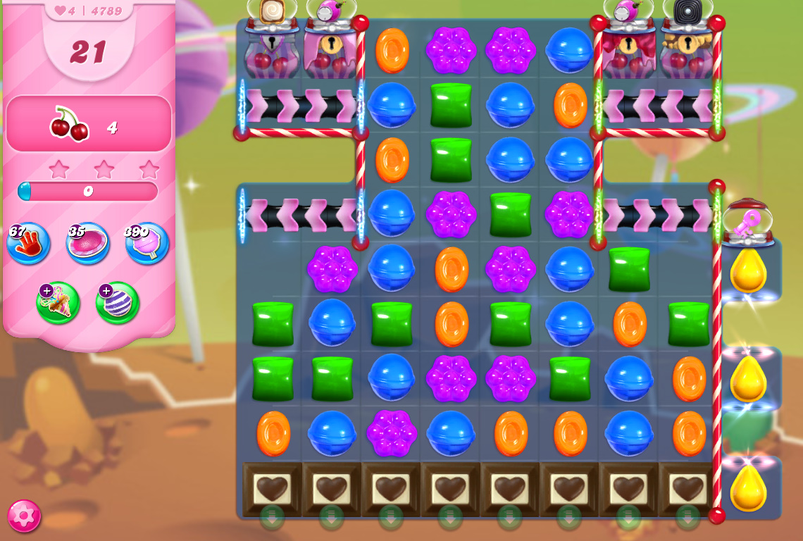 Candy Crush Saga level 4789