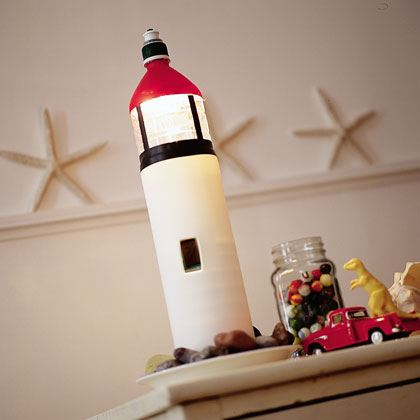 Lighthouse in a Bottle Craft