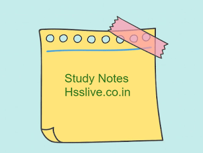 Hsslive Plus One Study Notes: Download Plus One (+1) Chapter Wise Notes PDF