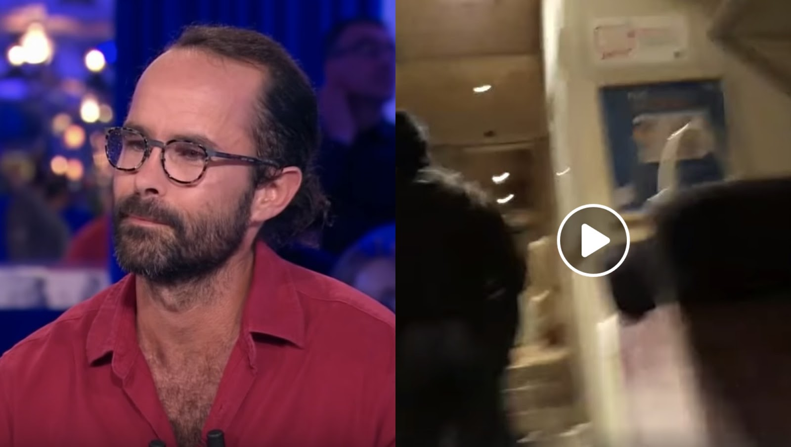 """""""Vous contrôlez le seul Noir"""": Cédric Herrou accuse la police de contrôle au faciès"""