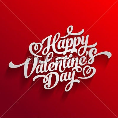 "stock vector happy valentines day hand drawing vector lettering design 363907253 - {""Best""} # 20+ Happy Valentines Day 2018 SMS"