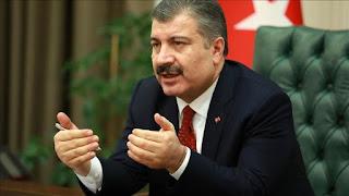 وزير الصحة يعلن عن الحصيلة الجديدة للوفيات والإصابات بكورونا في تركيا