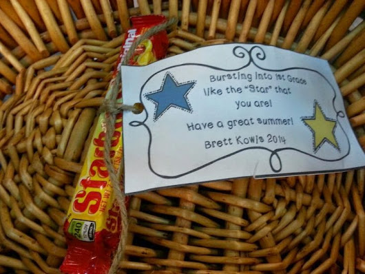 Kick Starting Kindergarten: End of Year Student Gifts...
