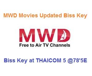 MWD Movies Updated Biss Key at THAICOM 5 @78'5E