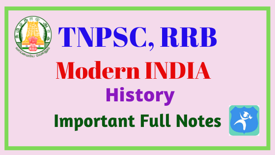 Modern INDIA History Full Notes