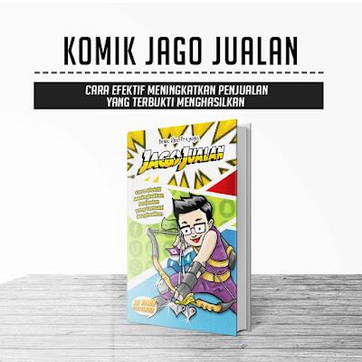 Komik Jago Jualan - Dewa Eka Prayoga