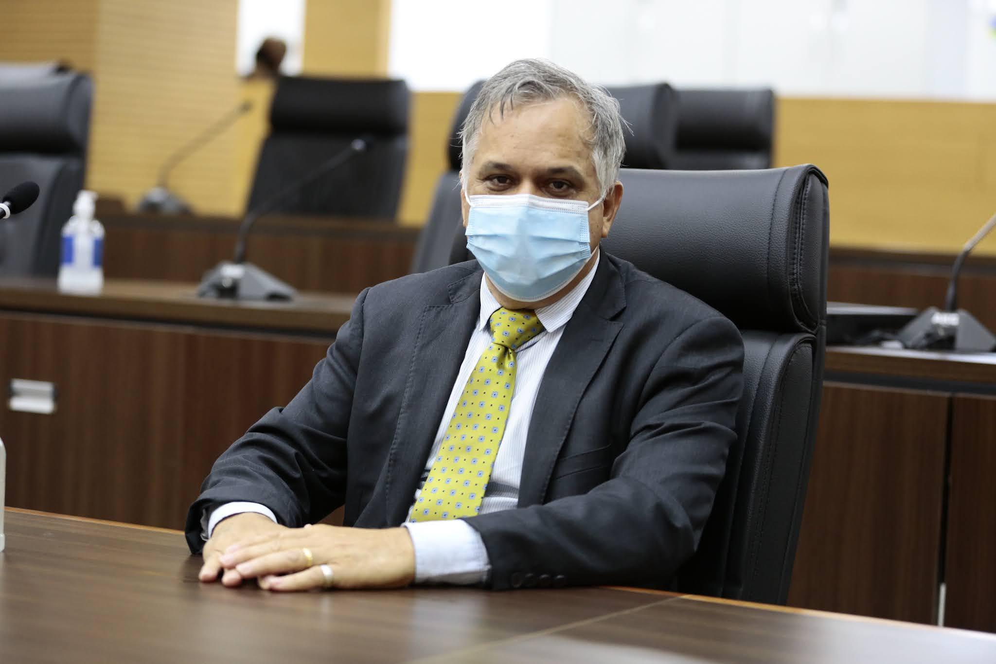 Deputado Geraldo participa de audiência pública em Costa Marques
