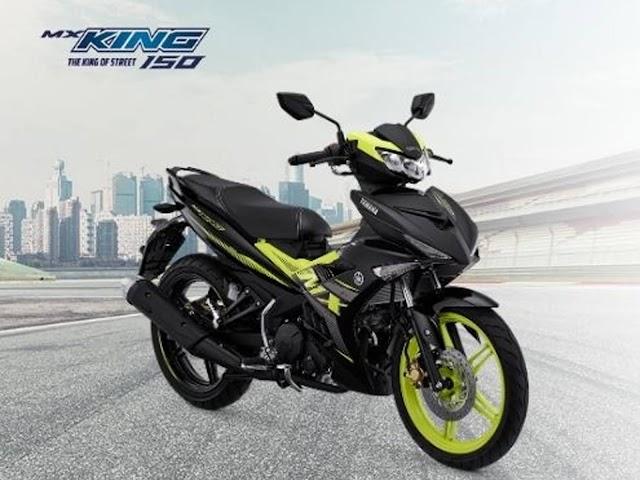 Rilis Warna Baru, Motor Yamaha MX King 150 Kian Sporty dan Berkarakter Agresif