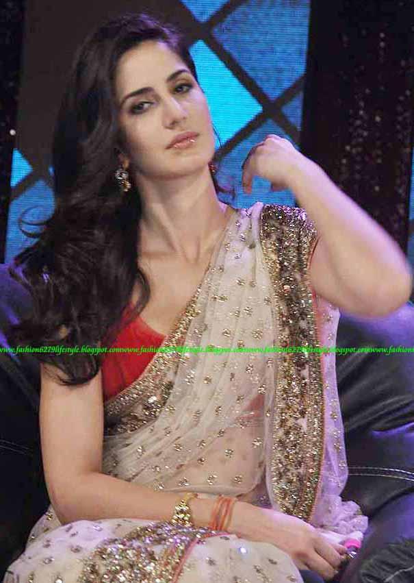 Fashion  Life Style Free Downloadkatrina-Kaif-Hot-Saree -1047