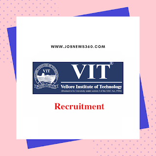 VIT Recruitment 2019 for Junior Research Fellow