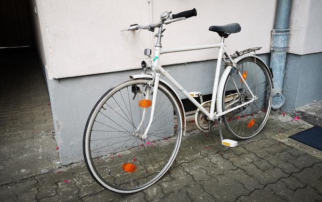DIY vorher Herrenrad 28 Zoll vor Umbau