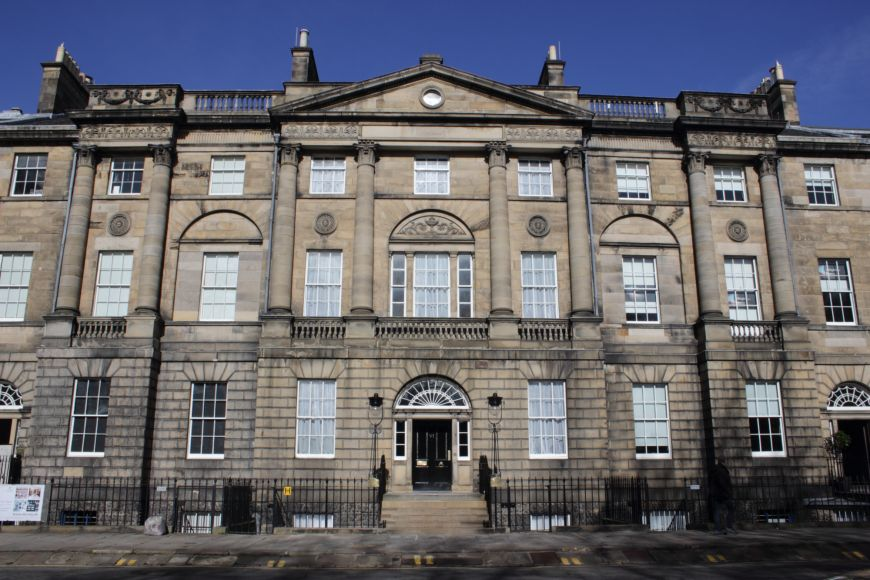 Exterior of Bute House Edinburgh
