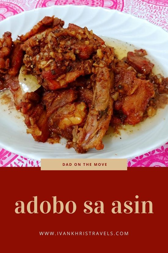 Adobo sa asin recipe