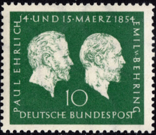 Germany Nobel Prize Paul Ehrlich and Emil von Behring