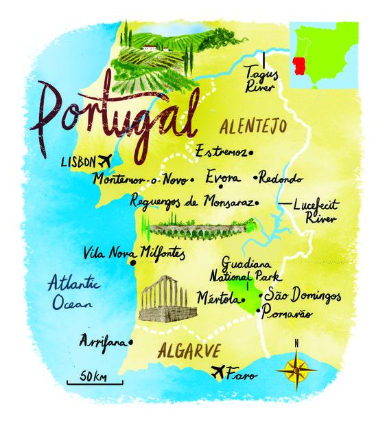 Smer Portugalsko - časť prvá