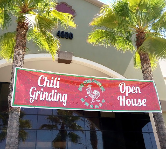 Huy Fong Foods chili grinding open house