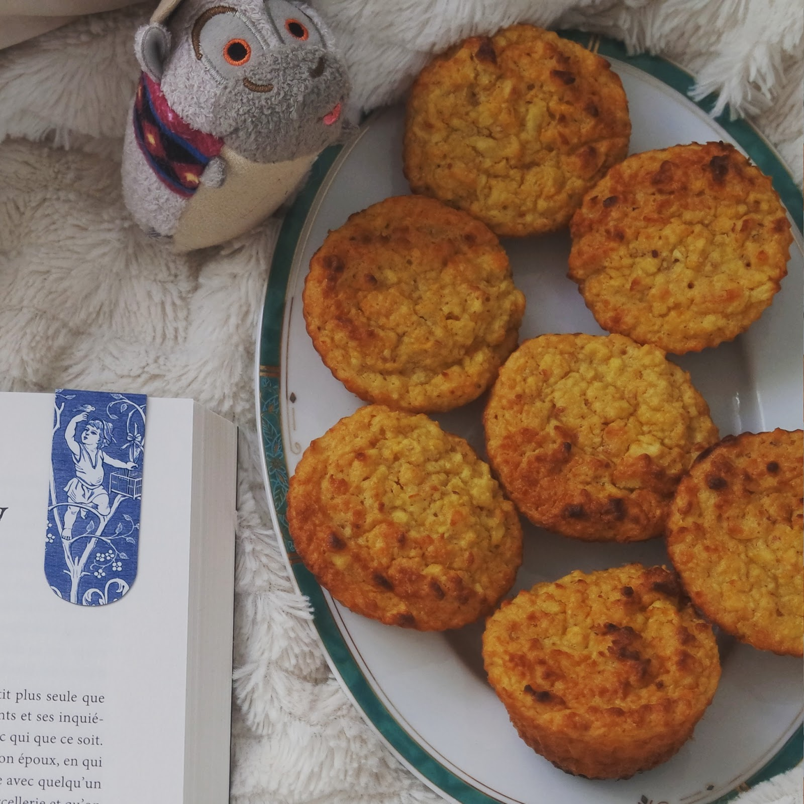 Cuisine gourmandise healthy muffins pomme carotte Blog Coin des licornes littéraire lifestyle Toulouse