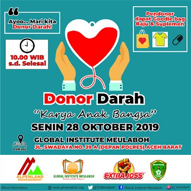 Mari Donor Darah!
