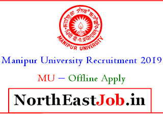 Manipur University Recruitment 2019  Controller of ExaminationsFinance OfficerDirector, EMMRC