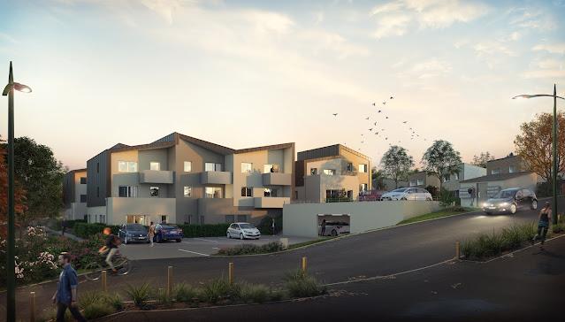 Image d'architecture d'ambiance de logements