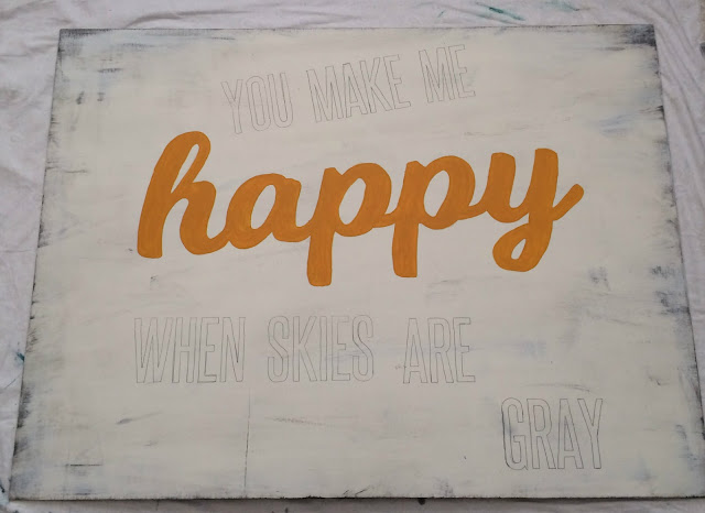 painting signs, diy, make your own art, diy art, make your own sign, hand lettering
