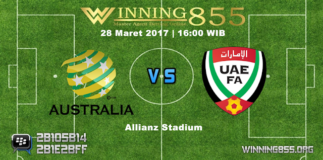 Prediksi Skor Australia vs UAE 28 Maret 2017