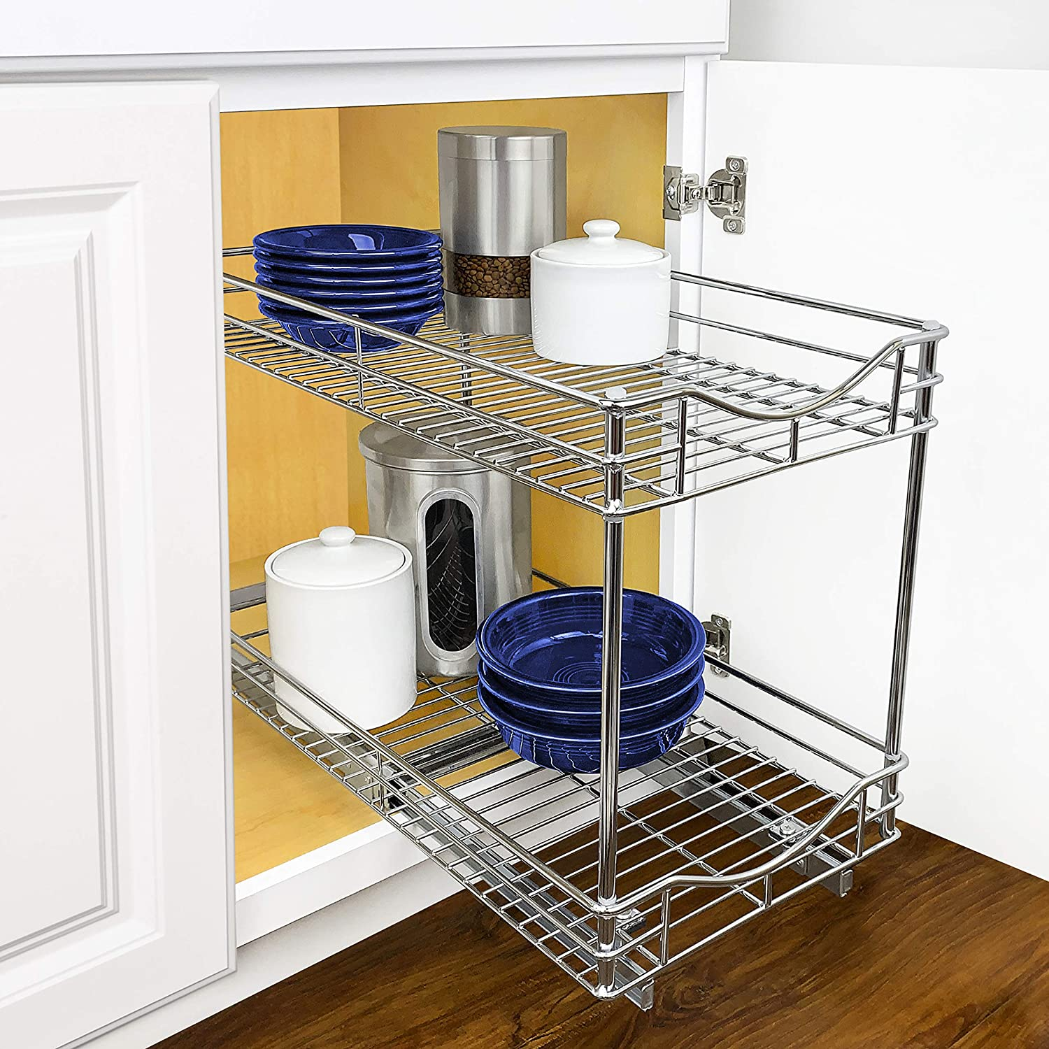 how to organize pots and pans, pots and pans storage ideas, pots and pans organization