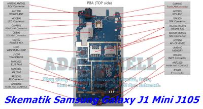 Skematik Samsung Galaxy J1 Mini J105