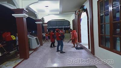 FOTO :Masker Merah Dan Relawan MJL Berebut Simpatik Ditengah Wabah