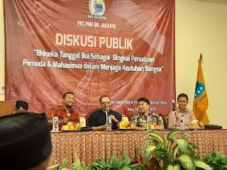 PKC PMII DKI Jakarta Serukan Persatuan Pemuda Dan Mahasiswa Lewat Diskusi Publik