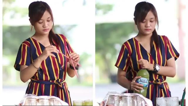 Gadis Cantik Penjual Es Tebu di Mojokerto, Digoda Ratusan Laki-laki Sampai Diajak Jalan