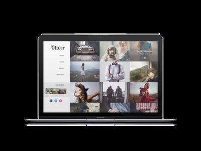 Oliver Blogger Templates Free Download | Oliver photography blogger theme Downalod | Blogger Theme Downalod