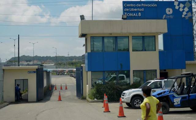 un muerto en carcel de Guayaquil