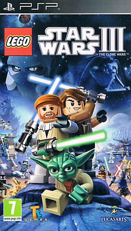 Lego Star Wars III - The Clone Wars - PSP - ISO Download