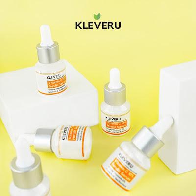 Cara penggunaan KLEVERU Vitamin C 10% Ferulic Serum
