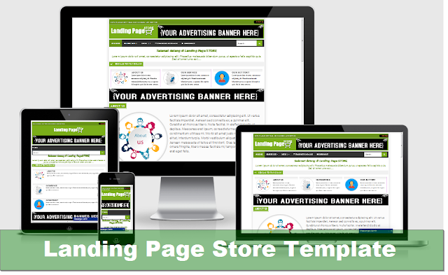 Landing Page Store Template