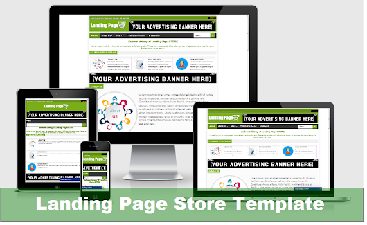 Template Landing Page STORE