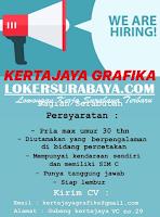 Loker Surabaya Terbaru di Kertajaya Grafika Desember 2019