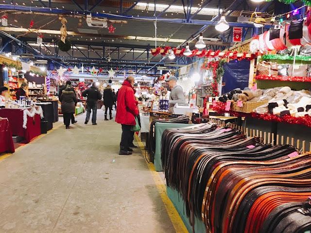 items in Marché du Vieux-Port de Québec as Marché de Noël in Québec City, Canada