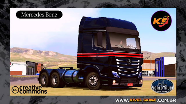 NEW ACTROS - BLACK RED