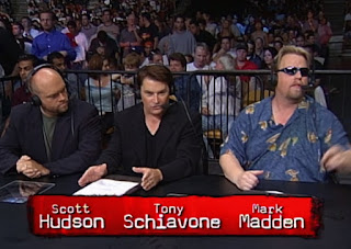 WCW New Blood Rising 2000 - Scott Hudson, Tony Schiavone, and Mark Madden called the event