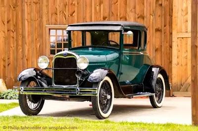 Model-A ford car, سيارة فورد قديمة