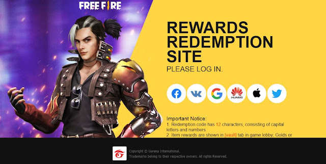 Free Fire redeem code for today (February 1st): Spirited Overseers Weapon Loot Crate