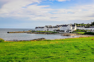Port Charlotte on Isle of Islay