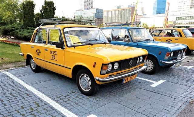 vecchie auto varsavia