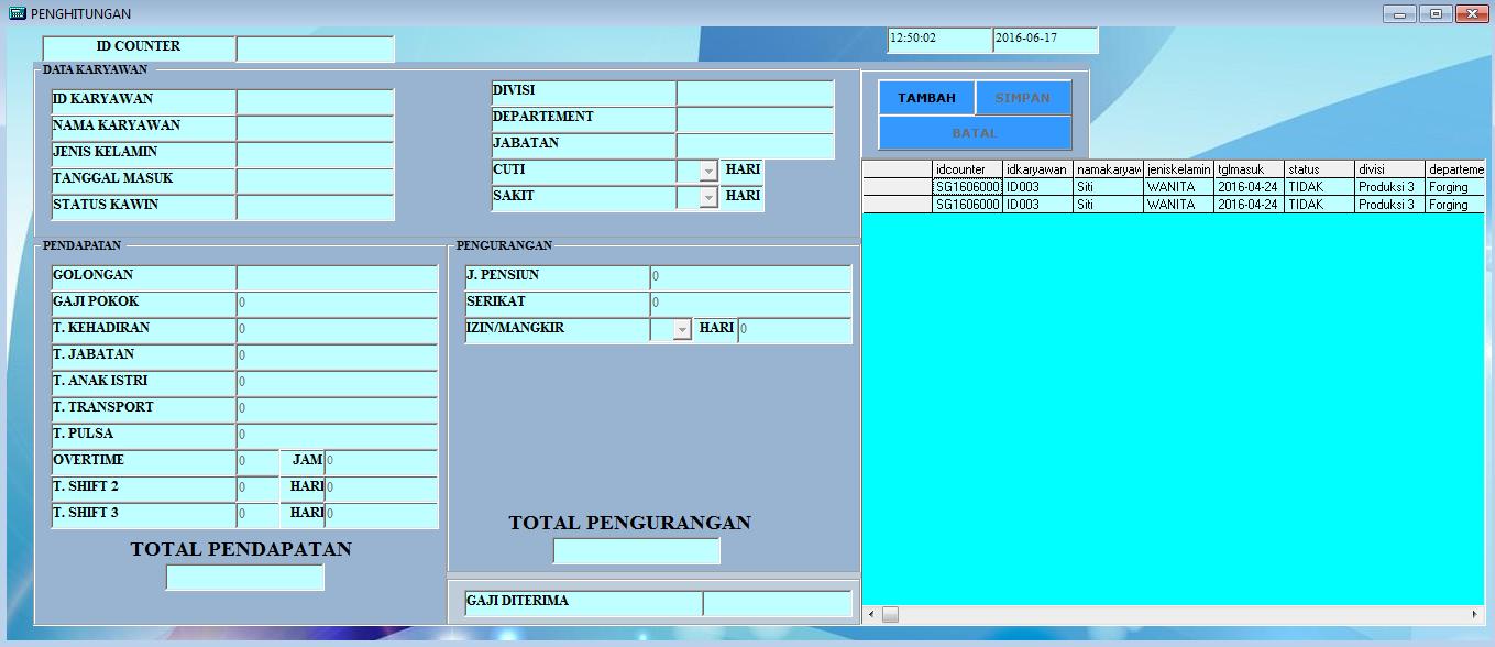 Contoh Laporan Visual Basic 6 0 Contoh Bu