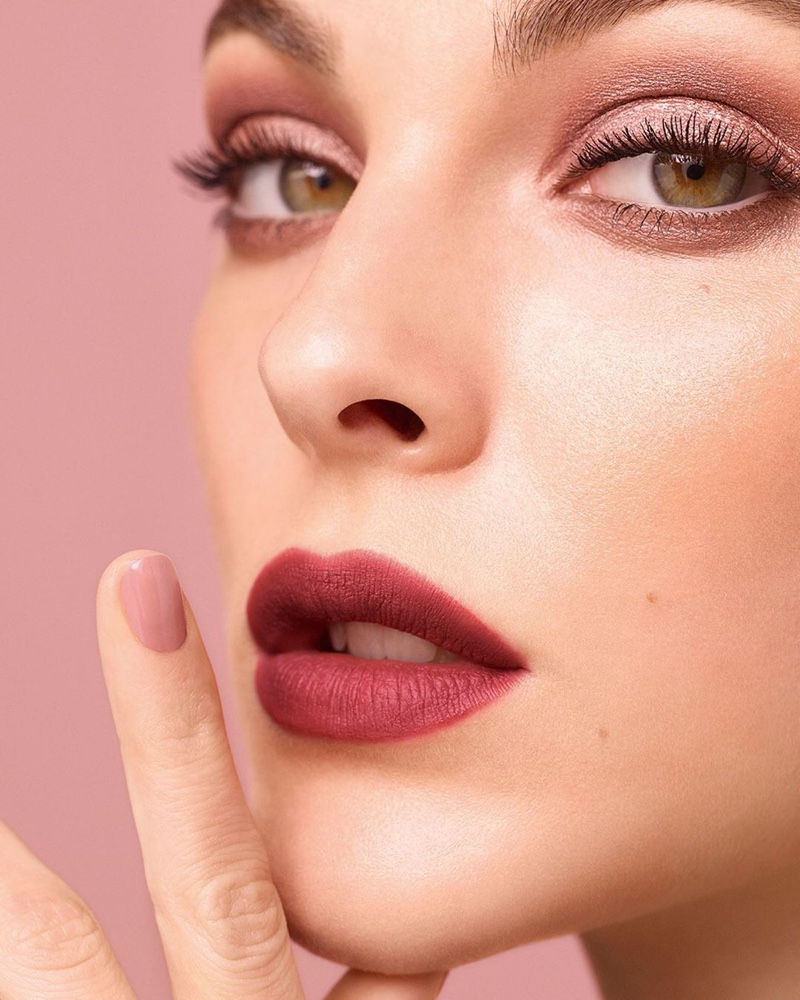Vittoria Ceretti gets her closeup in Chanel Beauty spring-summer 2020 campaign