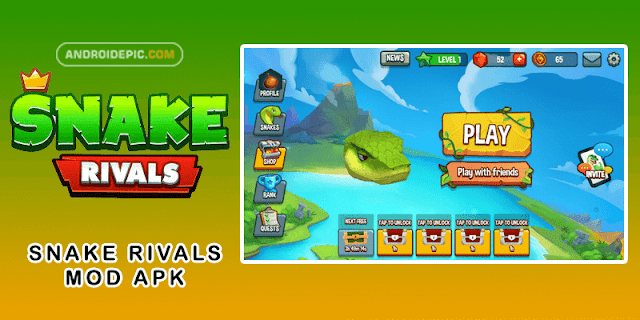 Download Snake Rivals Mod Apk Terbaru