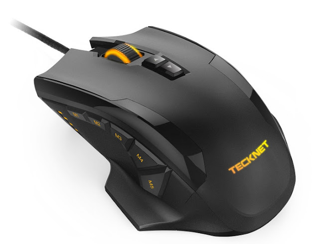 Tecknet Hypertrak Gaming Mouse Driver, Manual and Software Download For Windows