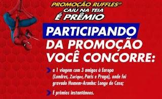 Cadastrar Promoção Caiu na Teia É Prêmio - Ruffles Batatas